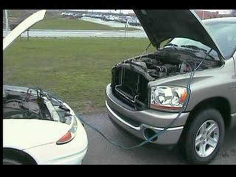 Ο σωστός τρόπος για να βάλετε μπροστά το αυτοκίνητο με καλώδια