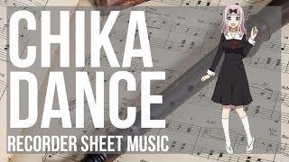 Kei Shirogane  - (Kaguya sama: Love Is War) - EASY Recorder Sheet Music: How to play Chika Dance (Kaguya sama) by Kei Haneoka