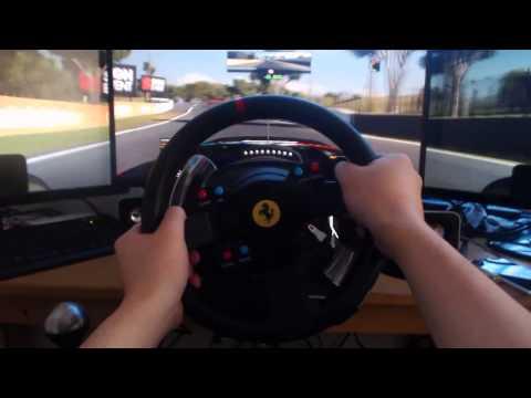 Видео № 0 из игры Съемное рулевое колесо Thrustmaster Ferrari GTE F458