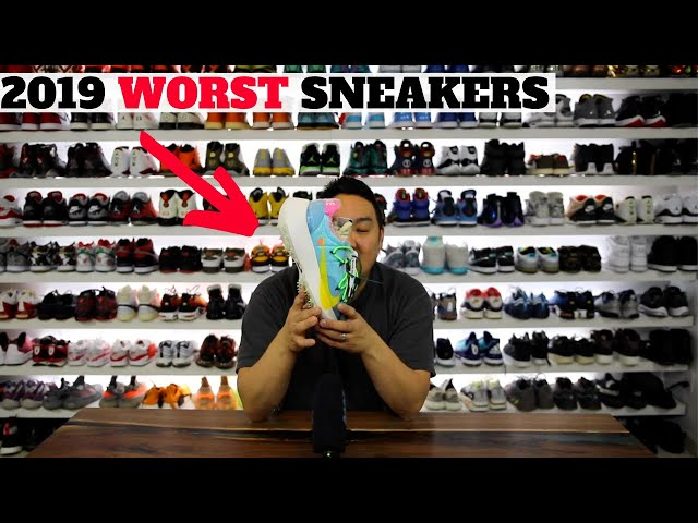 WORST SNEAKERS I BOUGHT IN 2019