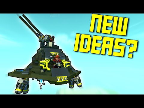 """We Searched for """"Ideas"""" on the Workshop Because We're All Out. - Scrap Mechanic Workshop Hunters"""