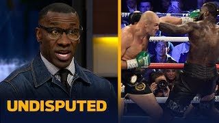 Tyson Fury made title fight vs Deontay Wilder look easy — Shannon Sharpe | PBC | UNDISPUTED
