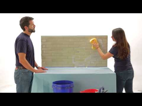 Fireclay Tile DIY: Grout Calk and Seal Your Tile