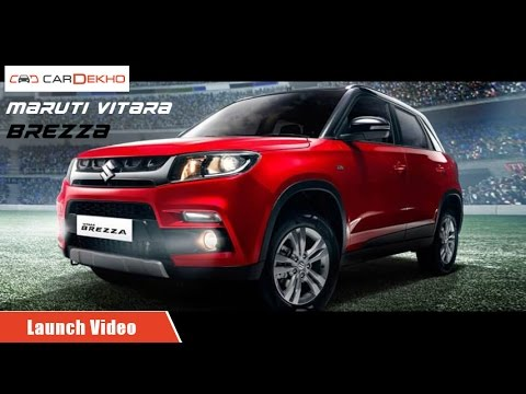 Maruti Vitara Brezza | Launch Video