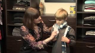 Tutorial For A Boys Scarf : Boys Fashion