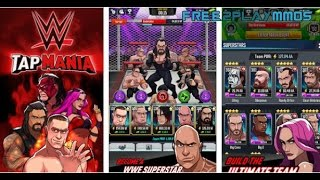 WWE Tap Mania Gameplay Android / iOS