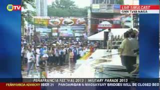 Peñafrancia Military Parade 2013