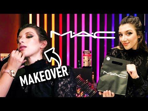 MAKEOVER AT MAC || MAKEUP SHOPPING SPREE