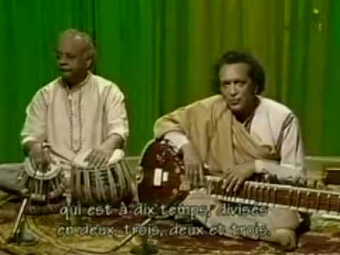 Ravi Shankar, Alla Rakha - Tabla Solo in Jhaptal