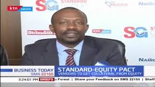 Standard Group PLC partners with Equity Bank Limited to finance newspaper vendors