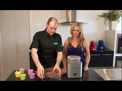 Video Cuisinart: Making Lemon Sorbet in 25 minutes...
