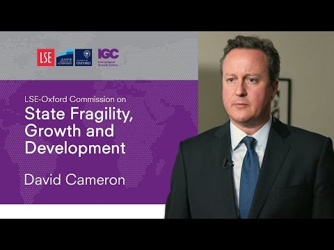 David Cameron: How can we help fragile states?