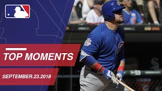 Top 10 Moments around MLB: September 23, 2018 - Video Youtube