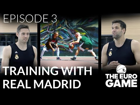 Training with Real Madrid | The Eurogame