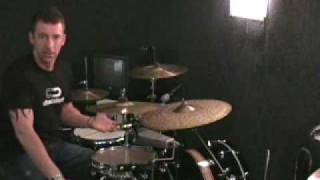 """Drum Lesson With Mike Johnston """"Improving Bass Drum Speed"""""""