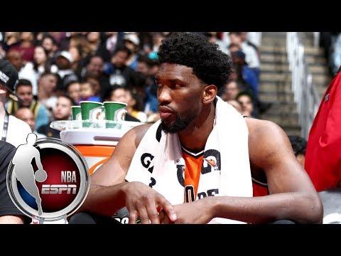 Joel Embiid is making his presence felt at NBA All-Star Weekend | ESPN