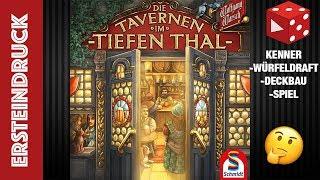 Ersteindruck: Die Tavernen im Tiefen Thal - (Wolfgang Warsch, Schmidt Spiele 2019)