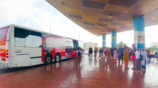 San Antonio Bus Station, Ibiza Spain