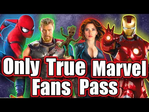 Ultimate GUESS THE MARVEL CHARACTER challenge - ONLY TRUE MARVEL FANS PASS! - Road To Endgame