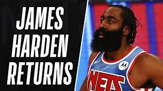James Harden DAZZLING Return in the Nets WIN! 💥