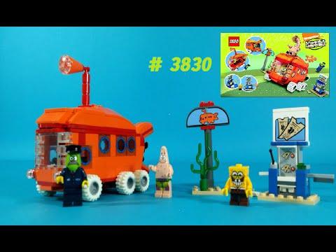 Vidéo LEGO Bob l'éponge 3830 : The Bikini Bottom Express