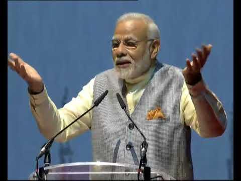 PM Modi's speech at the community programme in Dubai