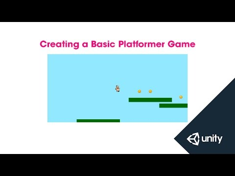 Creating a Basic Platformer Game - Unity