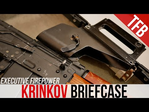 The Rare Covert Krink Briefcase (for the AKS74U)