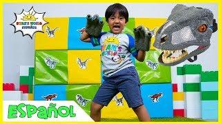 Giant Smash Surprise Jurassic World Jugetes de Dinosaurios