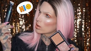 $65 FOUNDATION WAND REVIEW + Rose Gold Glam Tutorial  | Jeffree Star
