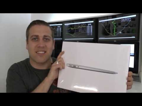 Apple 13 Inch MacBook Air 2013 Haswell Unboxing