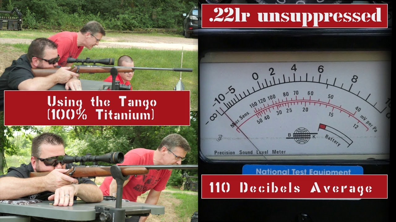 Tango Silencer - Dakota Silencer Range Testing