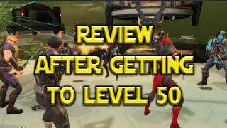 Review After Getting To Level 50 | Marvel: Strike Force