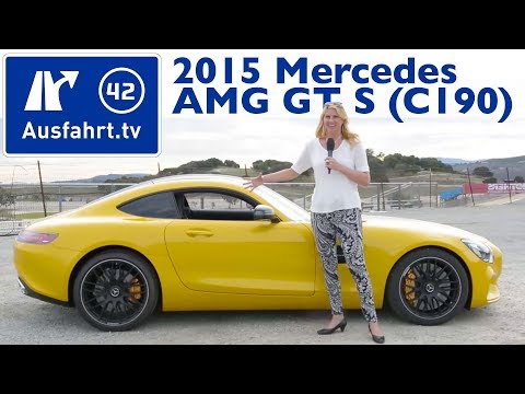 2015 Mercedes-AMG GT S (C190) - Kaufberatung, Test, Review