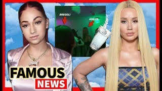 Bhad Bhabie #Watergate Iggy Azalea at Fashion Nova Launch Party | Famous News