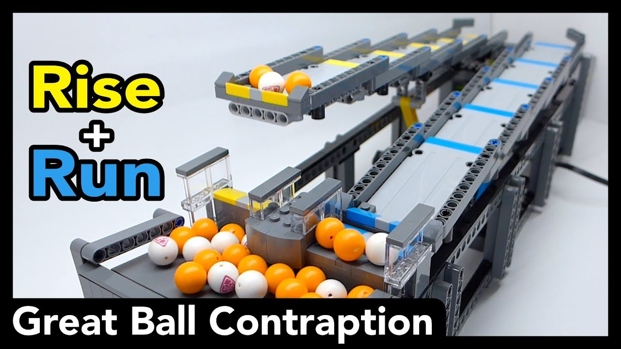 Lego GBC Module - Rise and Run