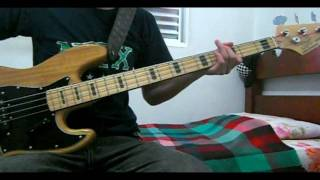 Anti-Flag One Trillion Dollars (Bass Cover)
