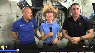 NASA hoax ISS Actornaut Chris Cassidy accidentaly admits they are filming in the USA  BUSTED
