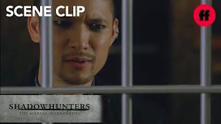 Shadowhunters | Season 2, Episode 4: Magnus Traps Camille | Freeform