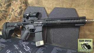 V Seven Match AR-15  300 AAC Blackout Barrel Review & Install