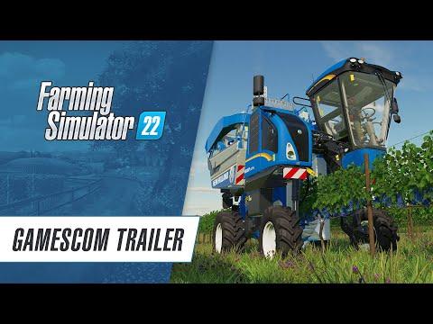Farming Simulator 22 : Premier trailer de gameplay
