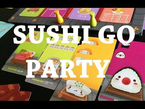 Sushi Go Party - társasjáték bemutató - Jatszma.ro