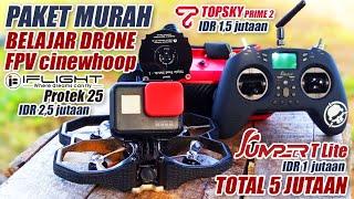 IFLIGHT PROTEK 25 + JUMPER T LITE + TOPSKY PRIME 2 |BELAJAR FPV DRONE PAKAI INI...