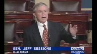 Jeff Sessions praises independent prosecutors in 2000
