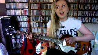 Me Singing 'Ticket To Ride' By The Beatles (Full Instrumental Cover By Amy Slattery)