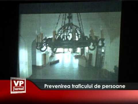 Prevenirea traficului de persoane