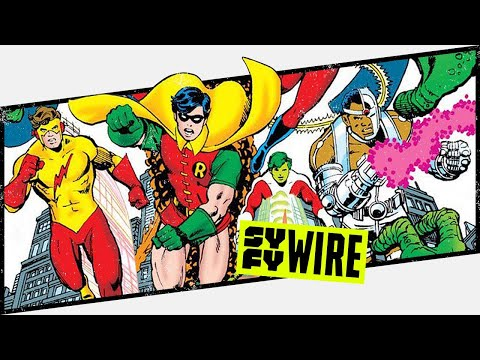 Teen Titans At 55 - Behind The Panel | SYFY WIRE