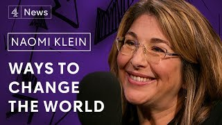 Naomi Klein on Extinction Rebellion, the Green New Deal and fast fashion