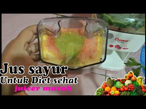 Contoh jus diet sehat/juicer cosmos murah