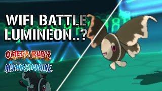 Lumineon  - (Pokémon) - Pokemon Omega Ruby/Alpha Sapphire Wifi Battle #6 - Lumineon, is Better than Noivern
